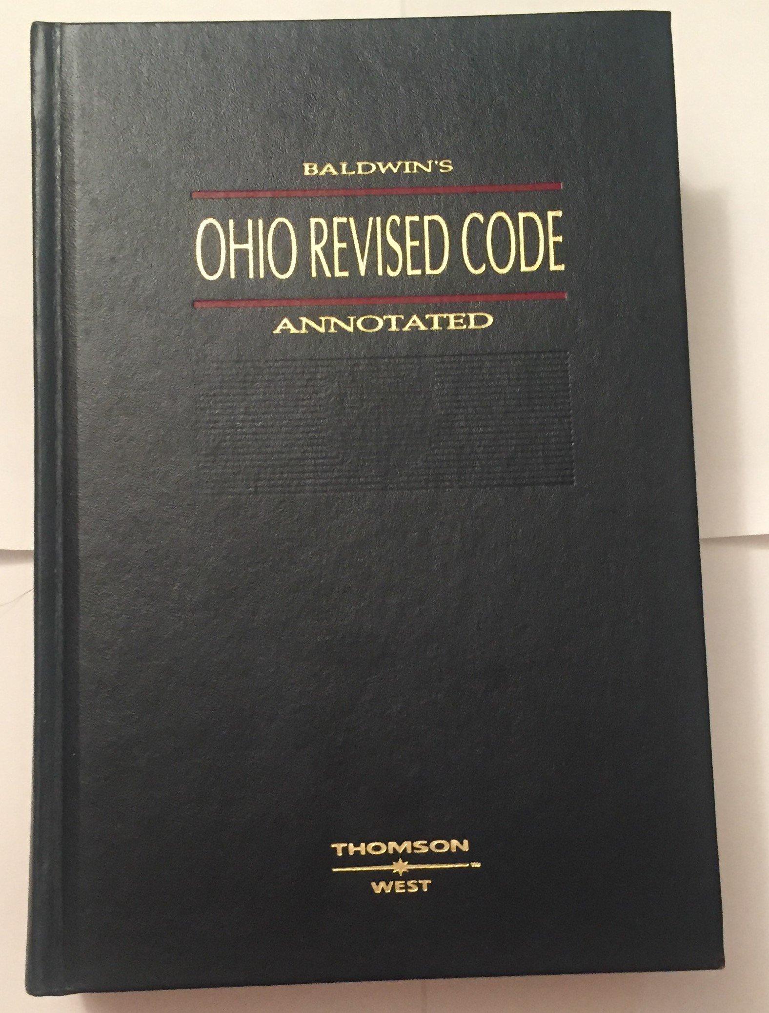 Ohio Revised Code Book