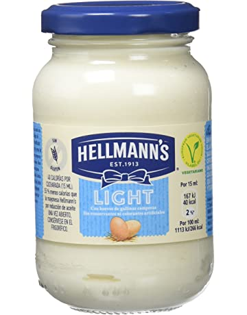 HellmannS Mayonesa Light - Paquete de 12 x 225 ml: Total: 2700 ml