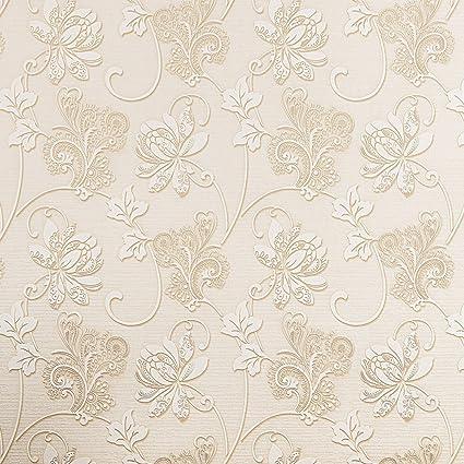 Sicohome Flower Backsplash Self Stick Wallpaper Gold 5 5 Yards