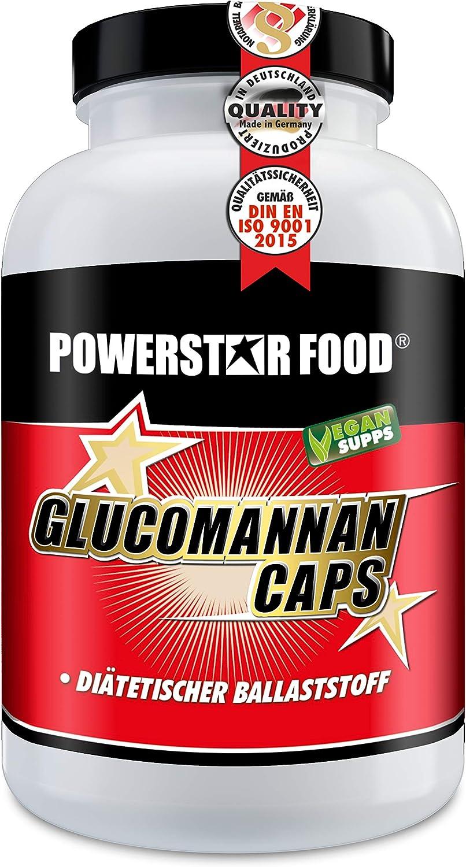 GLUCOMANNAN CAPS - 100% Glukomannan Ballaststoff Fasern