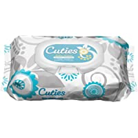 12-Pack of 72-Count Cuties Baby Wipes (Unscented)