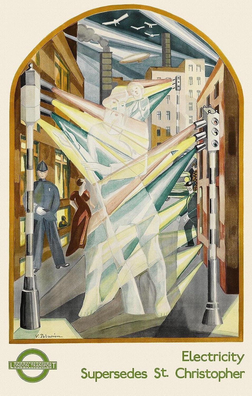 Metro de Londres de la electricidad - San Cristóbal 1934 ...