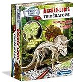 Clementoni - 52069-Archéo Ludic Tricératops - Phosphorescent-Jeu scientifique