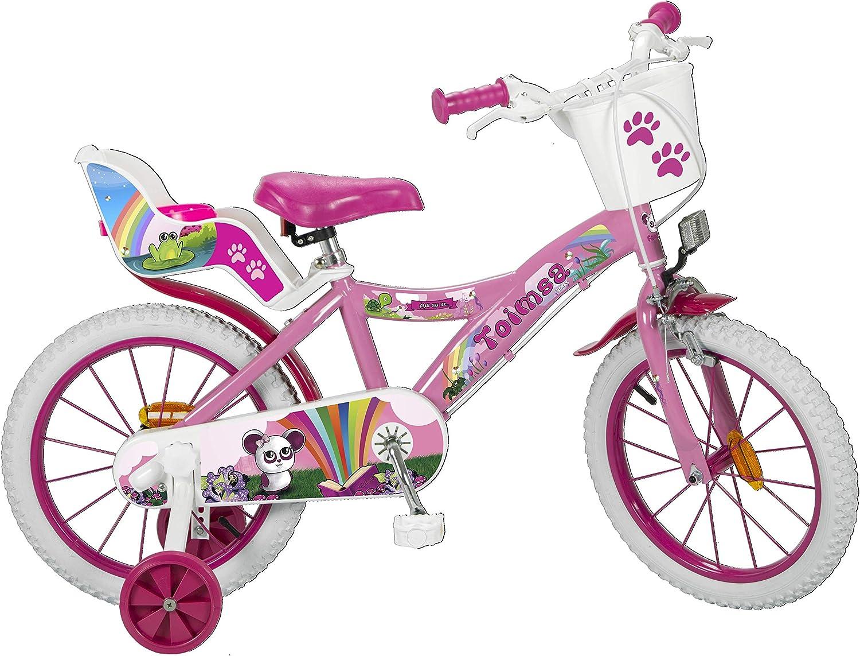 Toimsa 16221 Fantasy - Bicicleta de 16 pulgadas, multicolor , color/modelo surtido