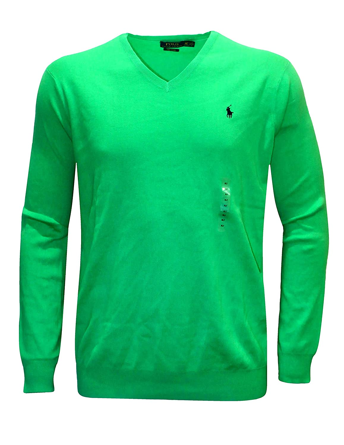 Polo Ralph Lauren Men's Big & Tall Pima Cotton V-Neck Sweater