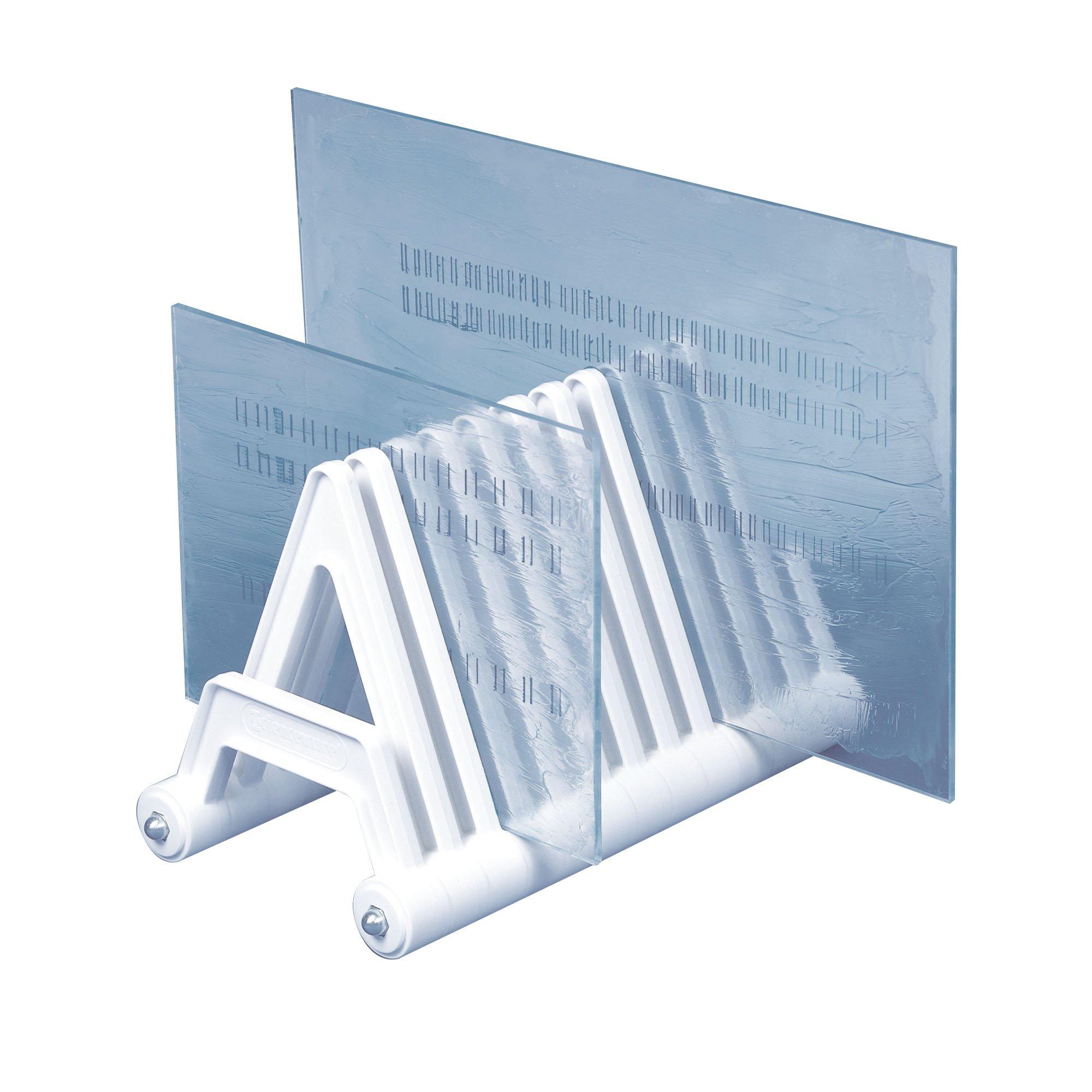 Bel-Art Electrophoresis Gel Plate Rack; Plastic, 8 x 15 x 9 in. (F13596-0000)