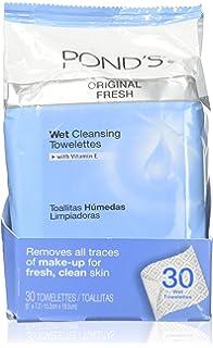 Amazon.com : Ponds Moisture Clean Towelettes Original Fresh ...