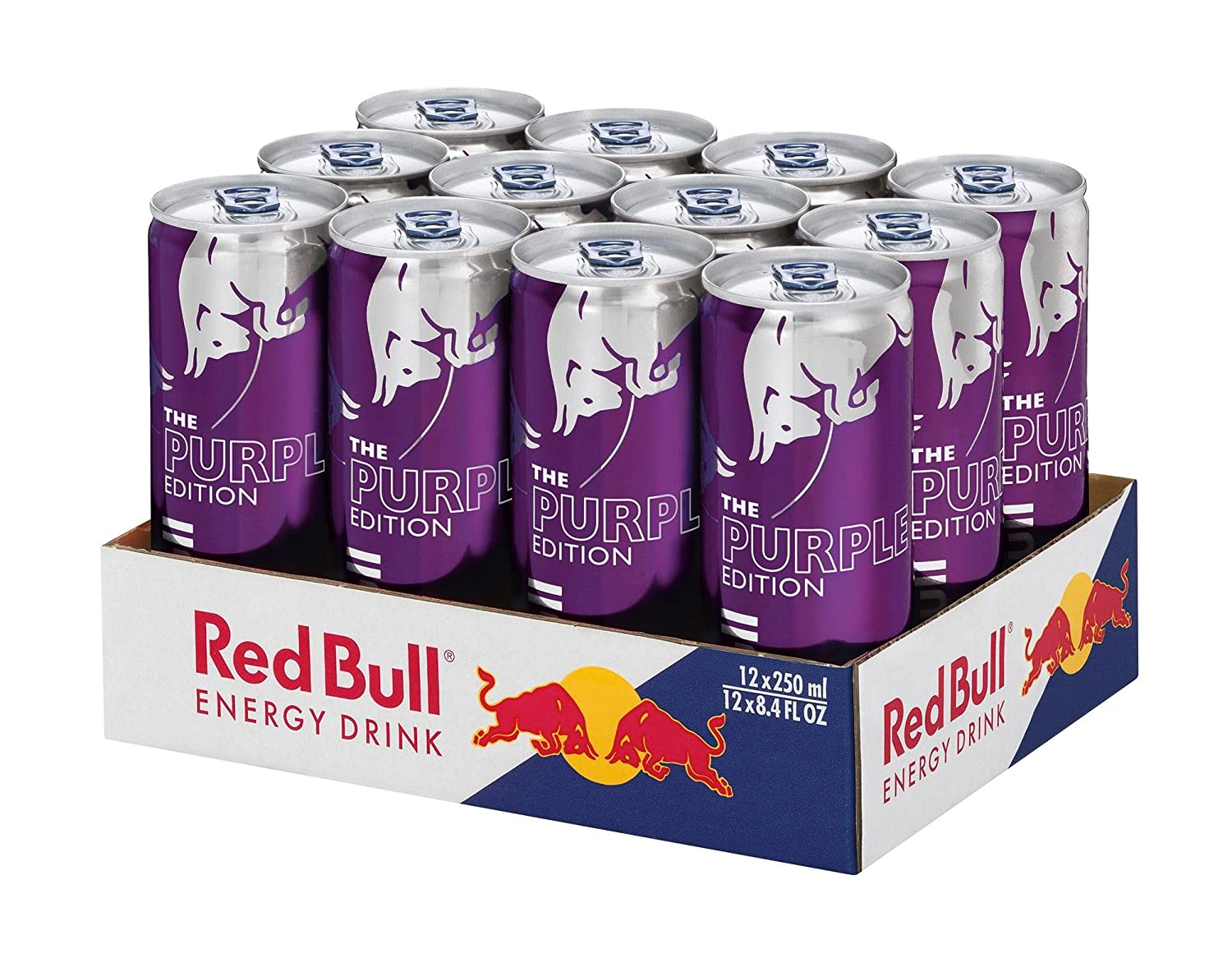 Red Bull Kühlschrank Beleuchtung : Red bull energy drink acai beere dosen getränke purple edition