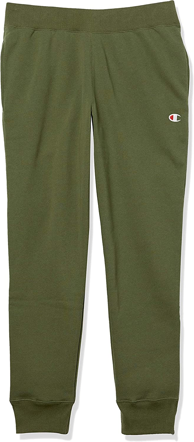 Champion LIFE Men's Reverse Weave Jogger, Hiker Green, Medium
