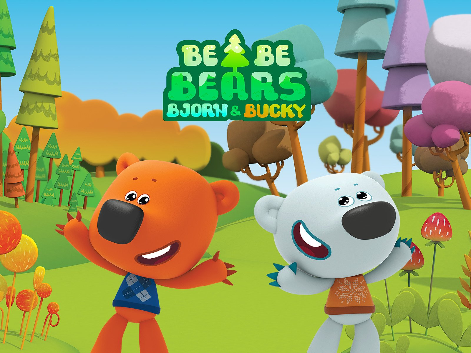 Watch Bjorn and Bucky - Be Be Bears | Prime Video