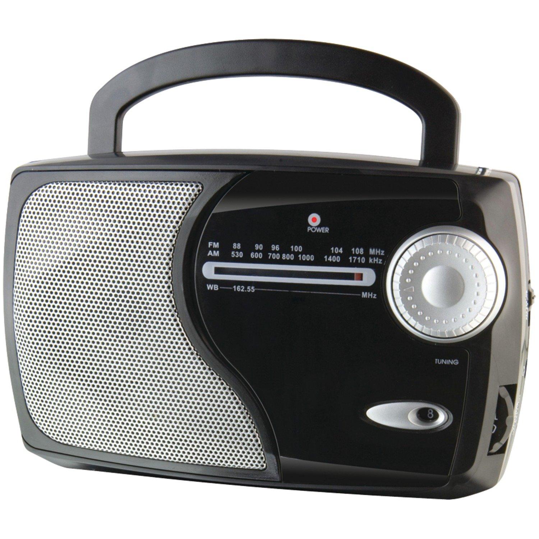 WeatherX WR282B Weather and Alert Radio (Black)