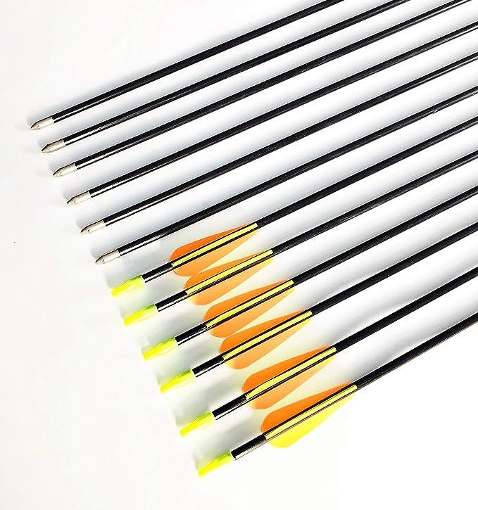 Best Archery Arrows: GPP 28-inches Fiberglass Archery Target Arrows