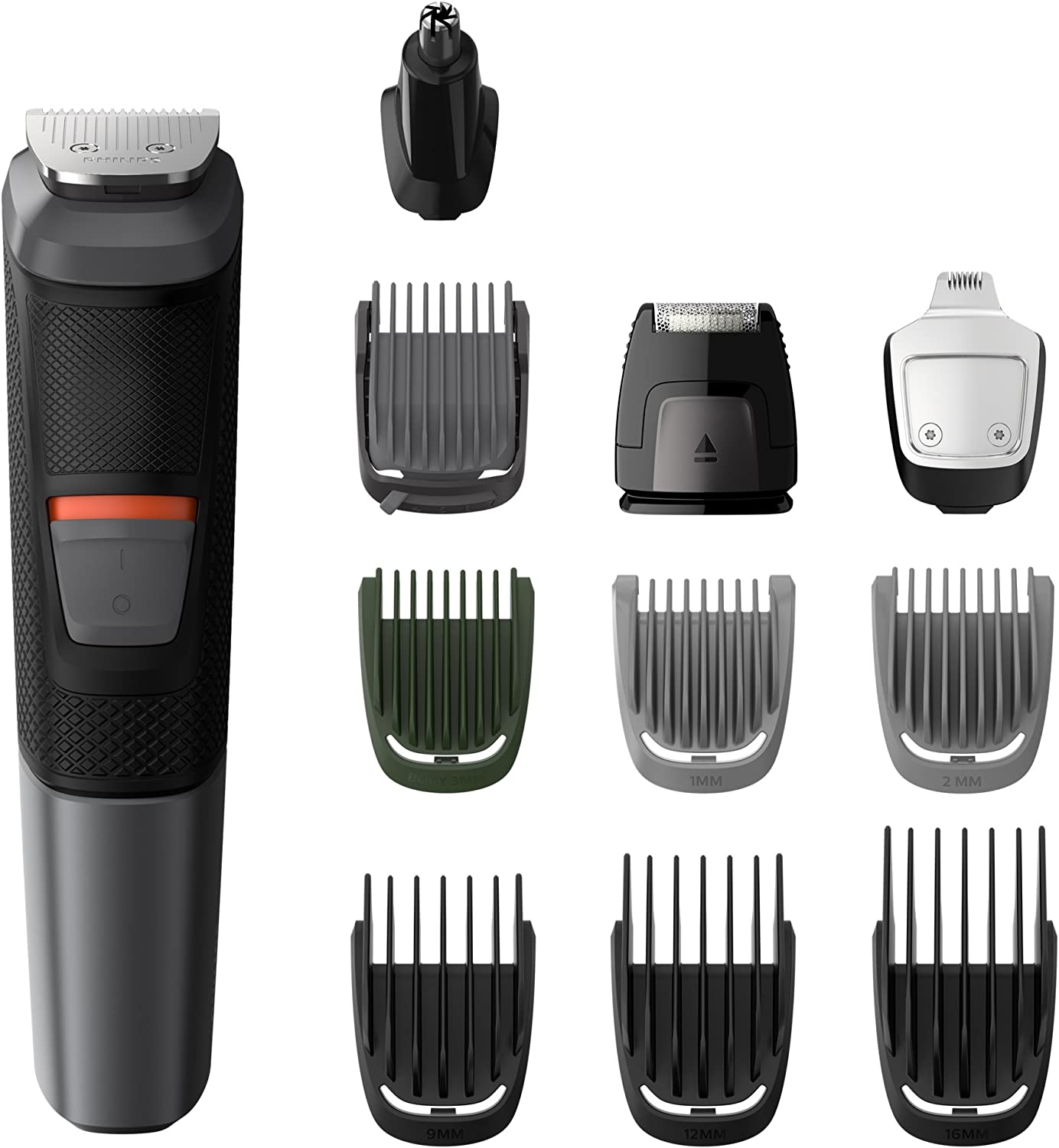 Philips MG5730 groming Kit Serie 5000 recortador impermeable 11 en 1 Barba, Cabello y Cuerpo