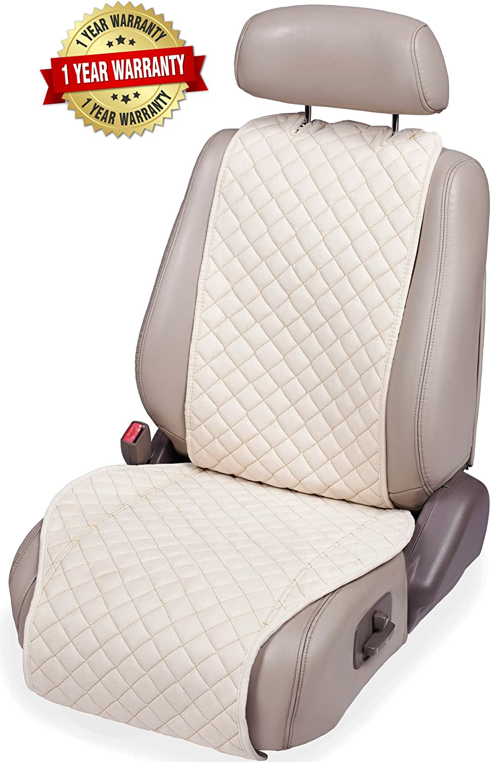 1-pc Boys Girls Premium Covers for Women or Van SUV Car Seat Cushion Fits Most Cars Car Seat Protector Men Truck IVICY Car Seat Cover Protector Cushion