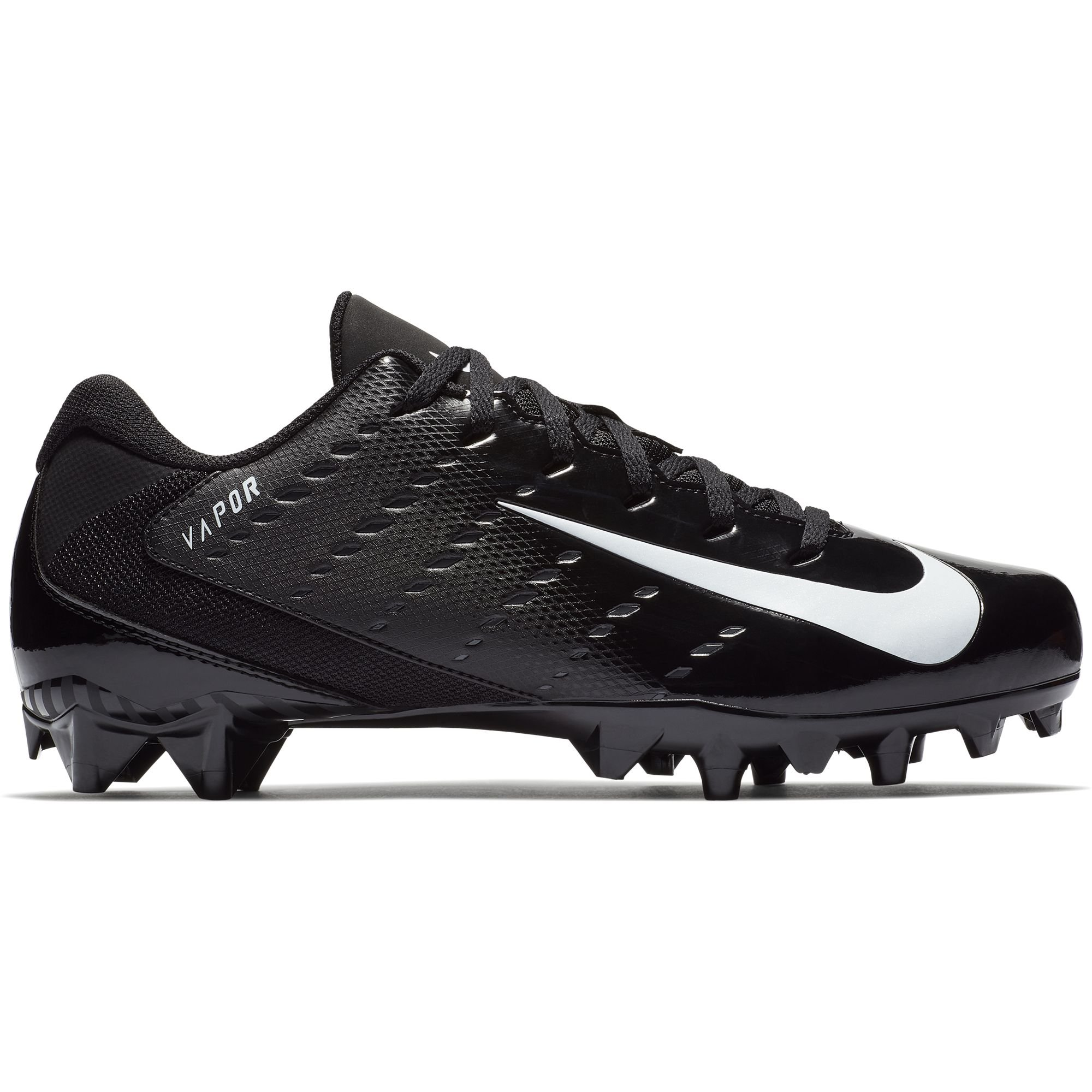 NIKE Men's Vapor Untouchable Varsity 3 TD Football Cleat Black/White/Anthracite Size 11 M US by NIKE