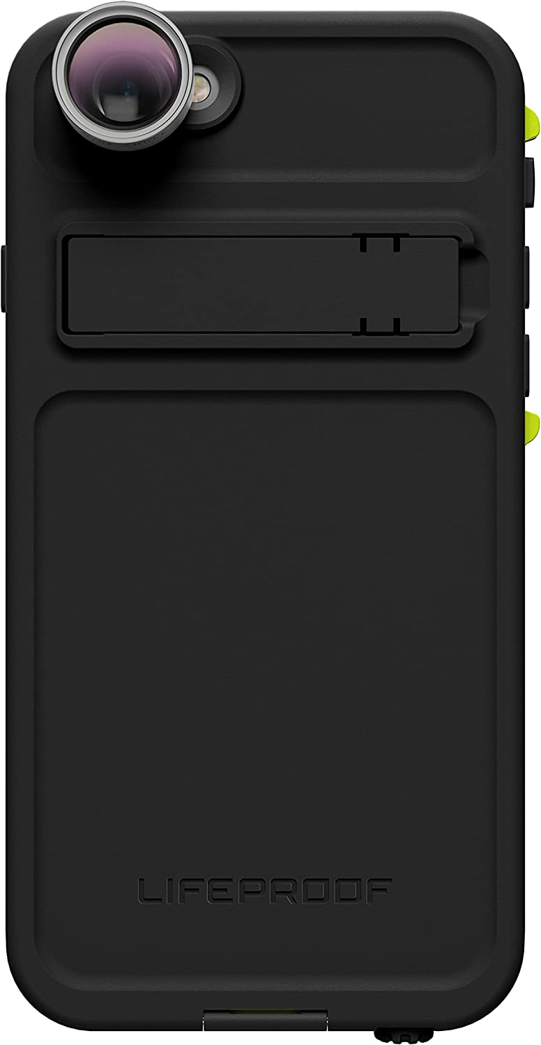Lifeproof FRE Shot Series Waterproof Case for iPhone 6/6s (ONLY) - Retail Packaging - Night LITE (Black/Lime)