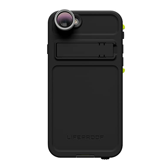 reputable site 0caac b8341 Lifeproof FRĒ Shot Series Waterproof Case for iPhone 6/6s (ONLY) - Retail  Packaging - Night LITE (Black/Lime)