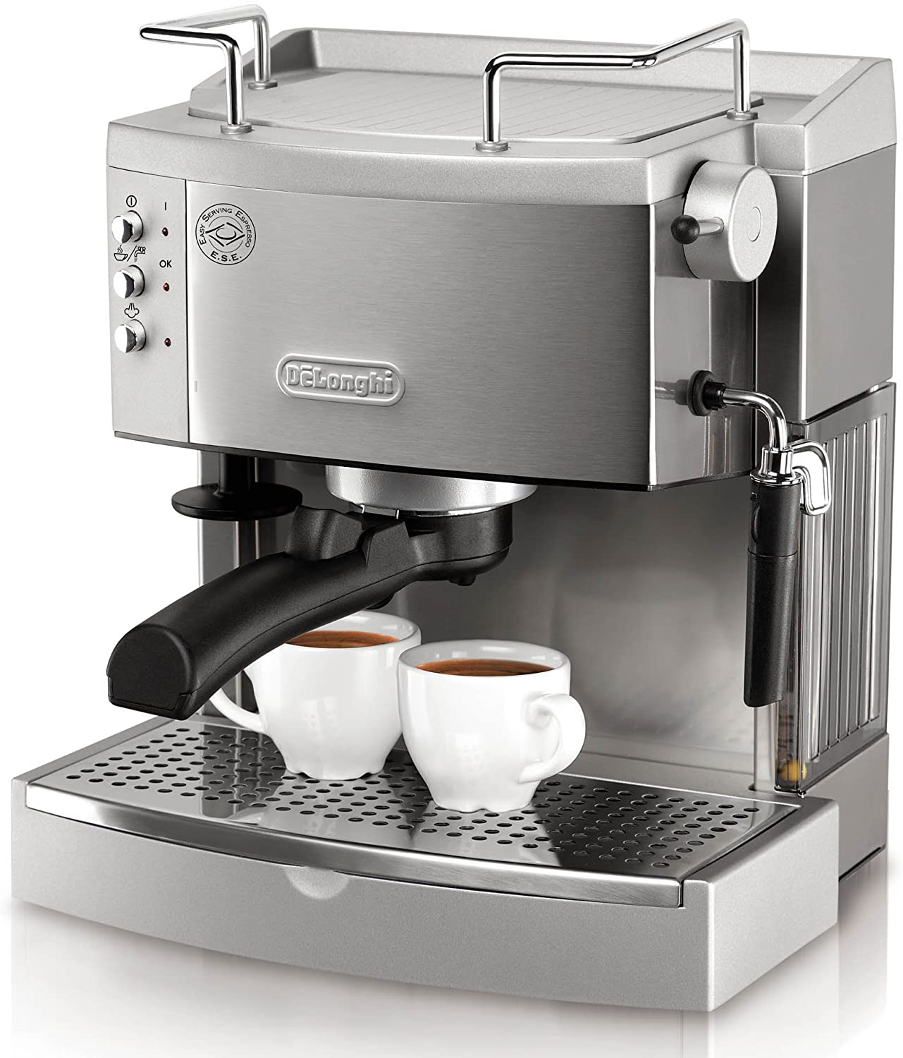 DeLonghi EC702 15-Bar-Pump Espresso Maker, capsule machine Amazon