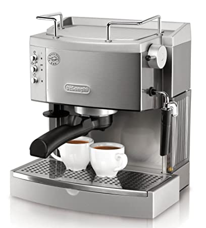 DELONGHI EC702 15-Bar-Pump Espresso máquina para Hacer, Stainless by