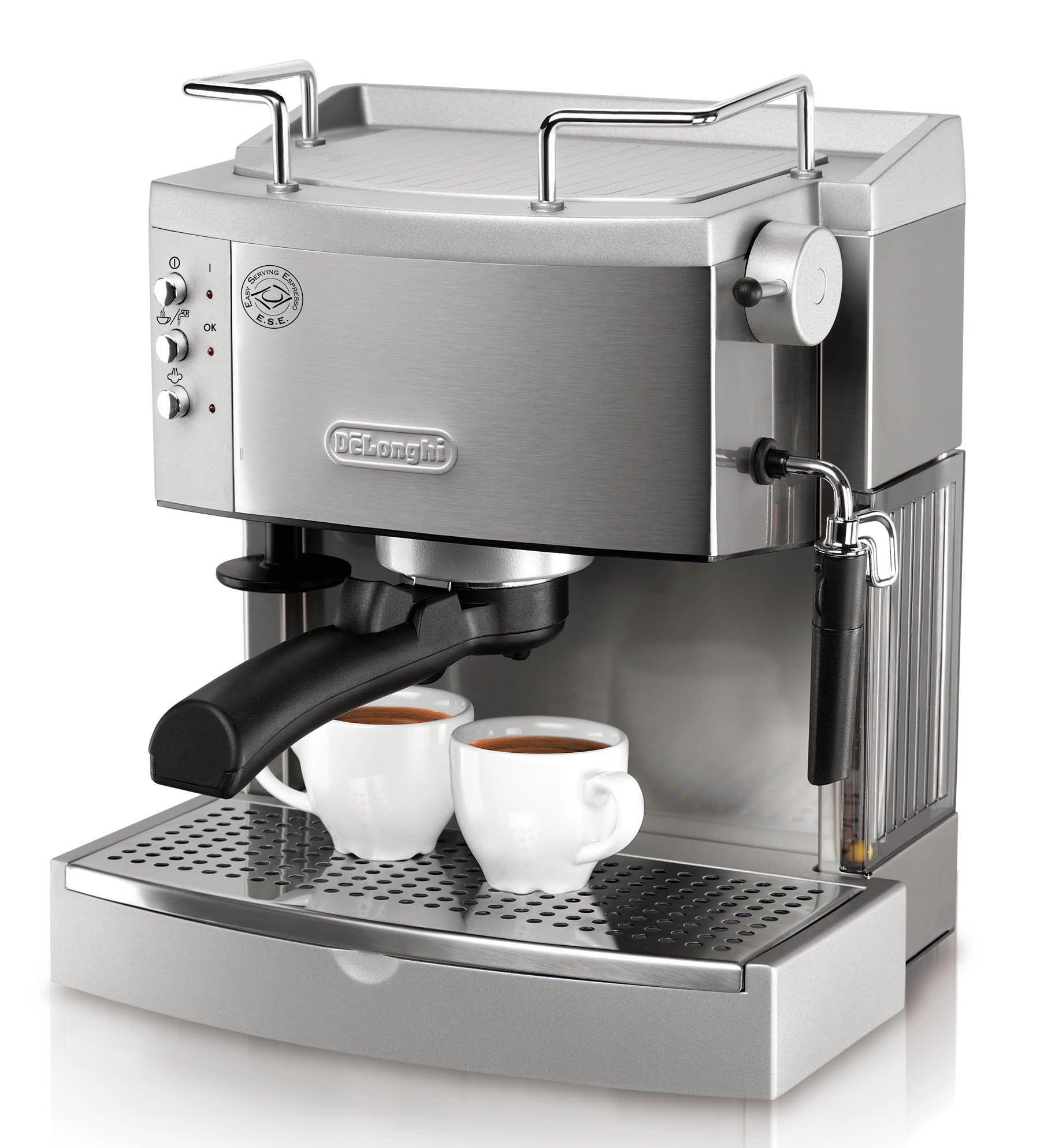 DeLonghi EC702 15-Bar-Pump Espresso Maker, Stainless by DeLonghi