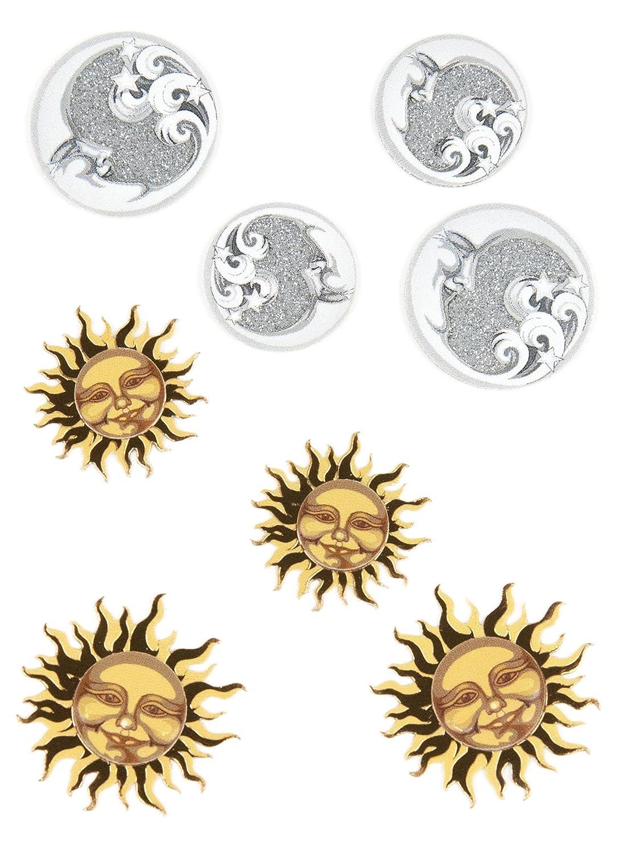 Celestial Suns and Moons EK Success Jolees Boutique Scrapbooking Embellishment