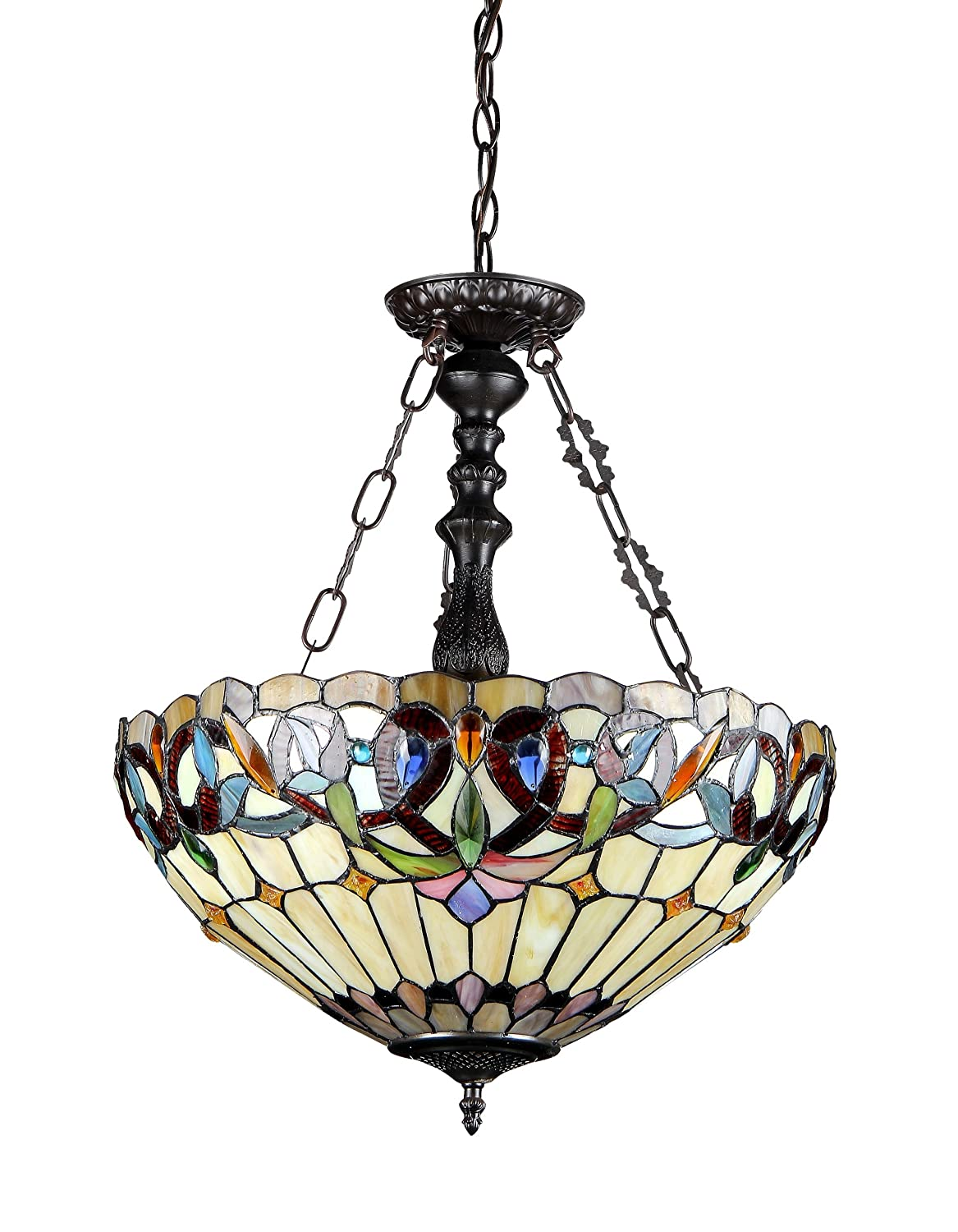 ceiling light interiors with design lighting art nouveau pendant type style tiffany hector image