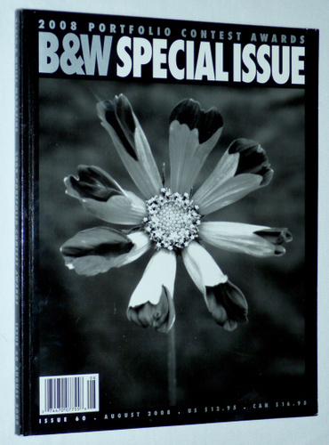 B&W, Black & White Magazine for Collectors of Fine Photography, SPECIAL ISSUE: 2008 Portfolio Contest Awards, Issue 60, August 2008 (Issue 60)