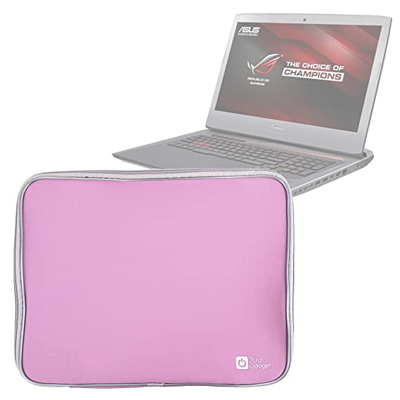 Amazon Com Duragadget Pink Shock Absorbent 17 5 Neoprene Laptop