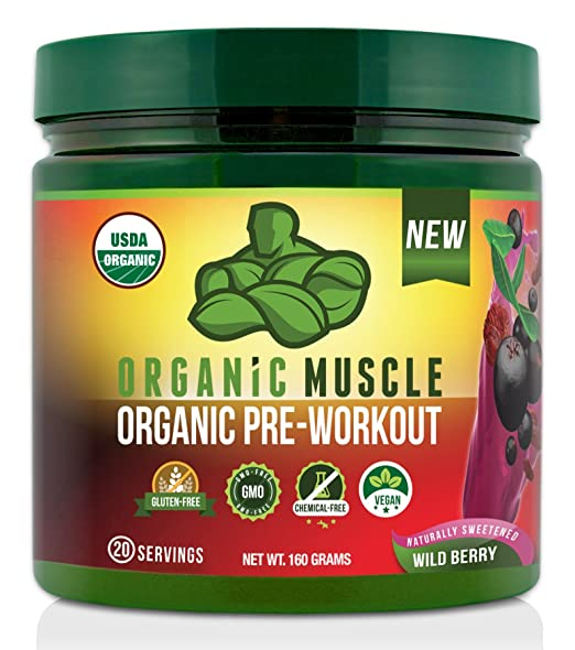 Organic Pre Workout Supplement by Organic Muscle