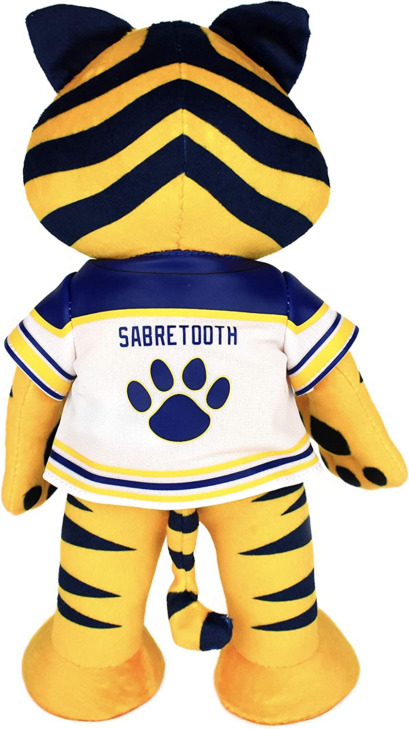 Bleacher Creatures Buffalo Sabres Sabertooth 10 Plush Figure A Mascot for Play or Display