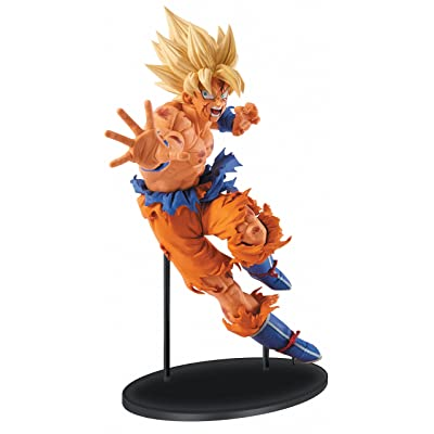 Banpresto Dragon Ball Z 8.7-Inch Goku Figure, SCulture Big Budoukai 5 Volume 1: Toys & Games