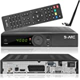Beware RX 540 HD DVB-S2 Full HD digitaler Sat Receiver [HDMI, SCART, USB, S/PDIF, LNB IN, RS-232] schwarz
