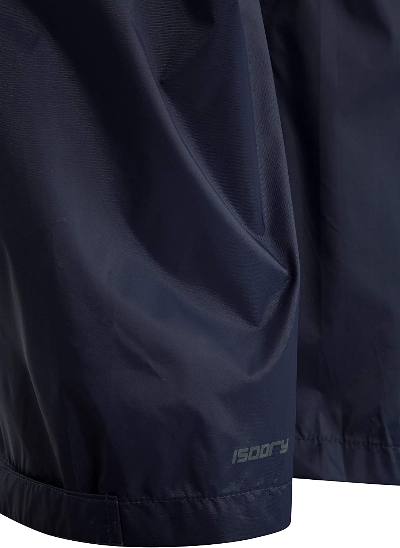 Mountain Warehouse Pakka Wasserfeste Überhose Für Damen Transportbeutel Atmungsaktive Regenhose Klettverschluss Am Hosenbein Für Nasses Wetter Frühling Bekleidung