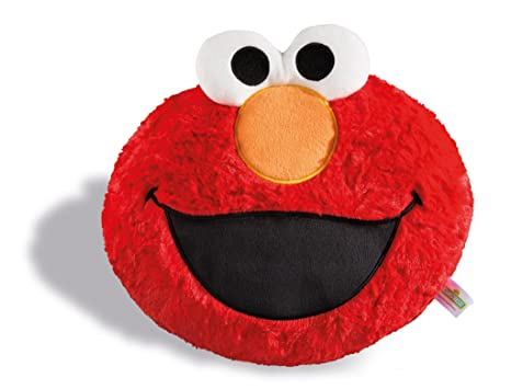 NICI Sesame Street, Pillow Head Elmo 28 x 24 cm, Plush