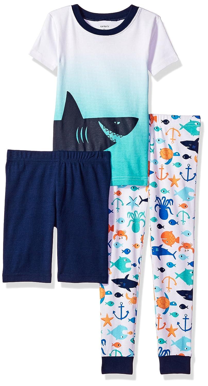 e324c16aa Amazon.com  Carter s Baby Boys  3-Piece Cotton Pajamas  Clothing
