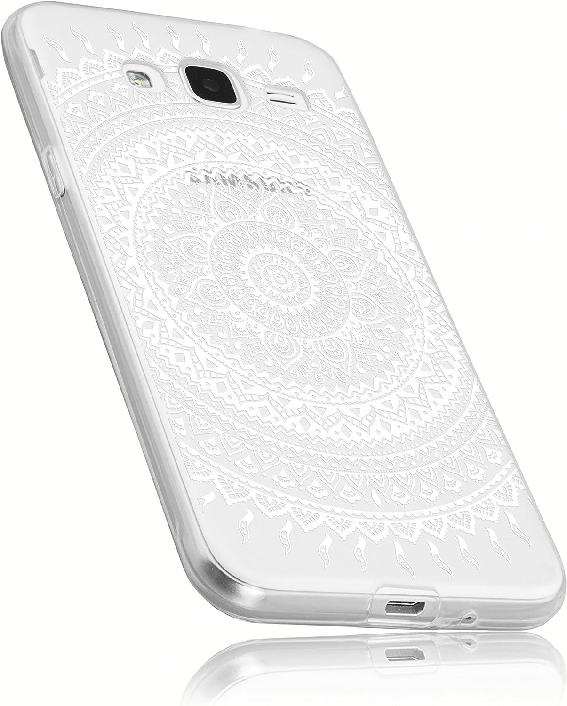 mumbi–Carcasa para Samsung Galaxy J3(2016) móvil en Mandala Diseño