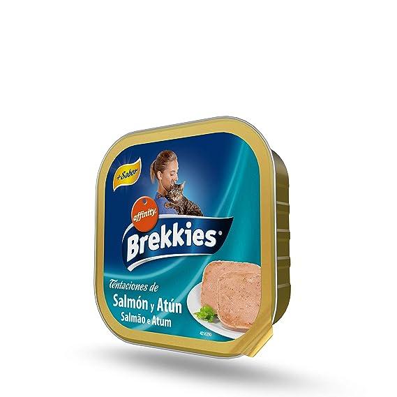 Brekkies Comida Húmeda para Gatos con Salmón y Atún - 100 gr