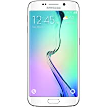 Amazon Com Samsung Galaxy S6 Edge White Pearl 32gb Sprint Cell