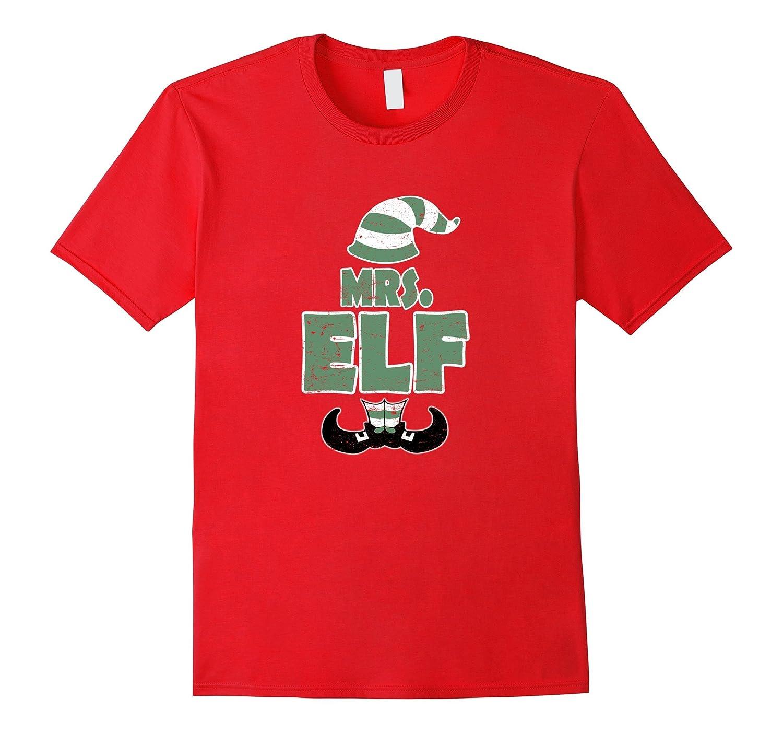 Mr. & Mrs. Santa Hat Shirts JrLMgxT