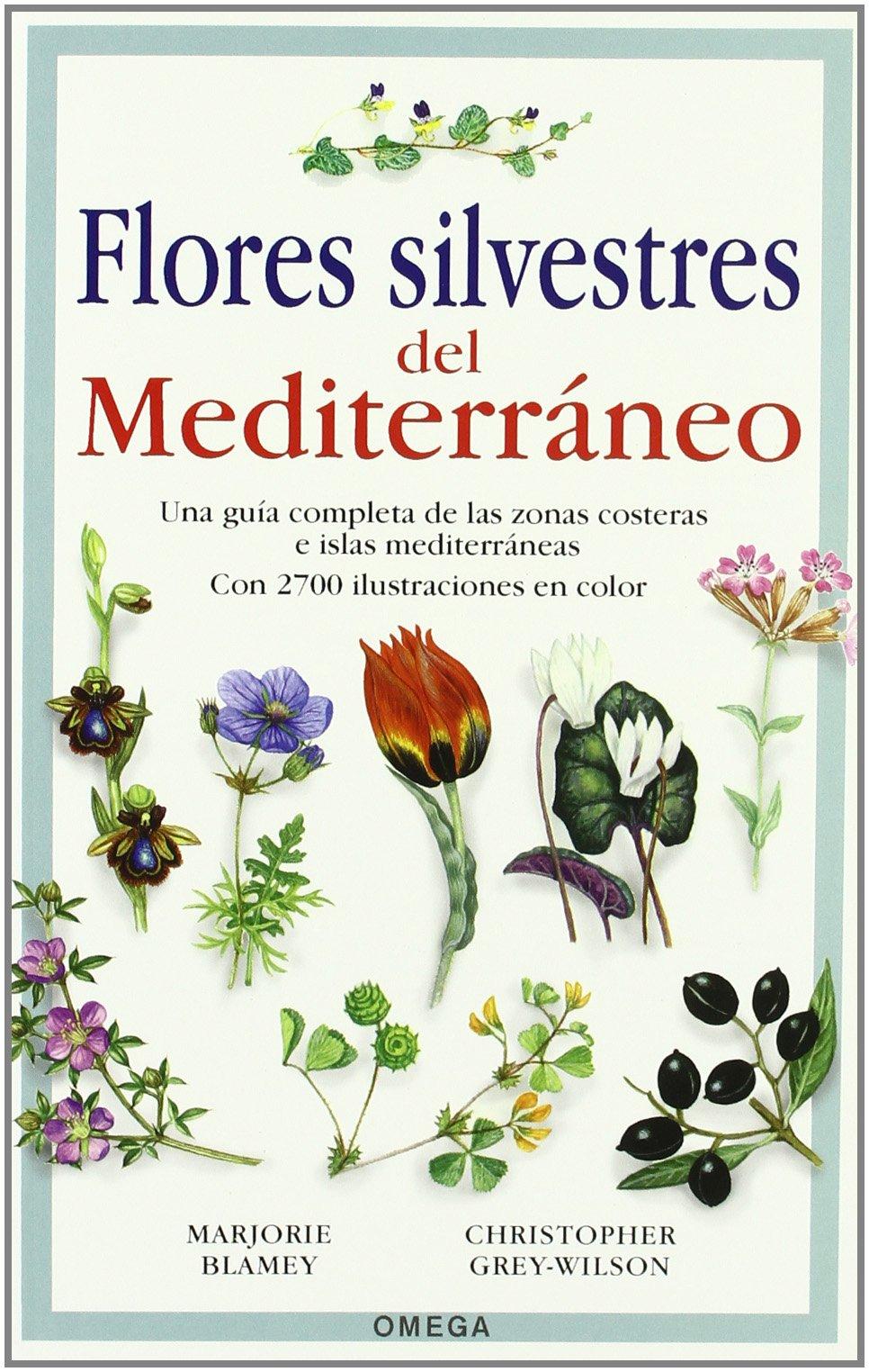 FLORES SILVESTRES DEL MEDITERRÁNEO GUIAS DEL NATURALISTA-PLANTAS CON FLORES: Amazon.es: BLAMEY, M. et al.: Libros