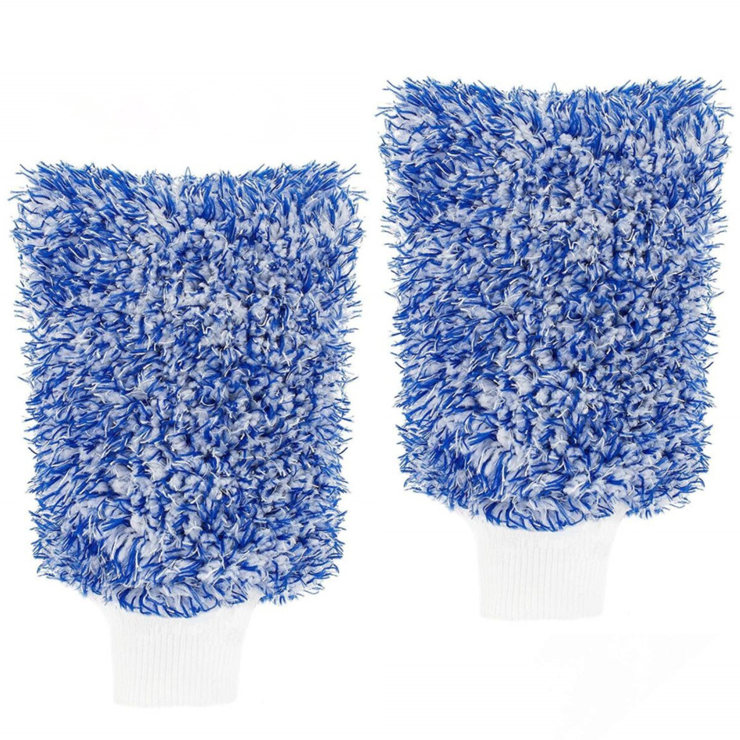 HepiSign Premium Car Wash Mitt Made from The Most Absorbent Microfiber Professional Sponge Car Wash Glove Extra Large Size 2-Pack Sponge for Car Wash