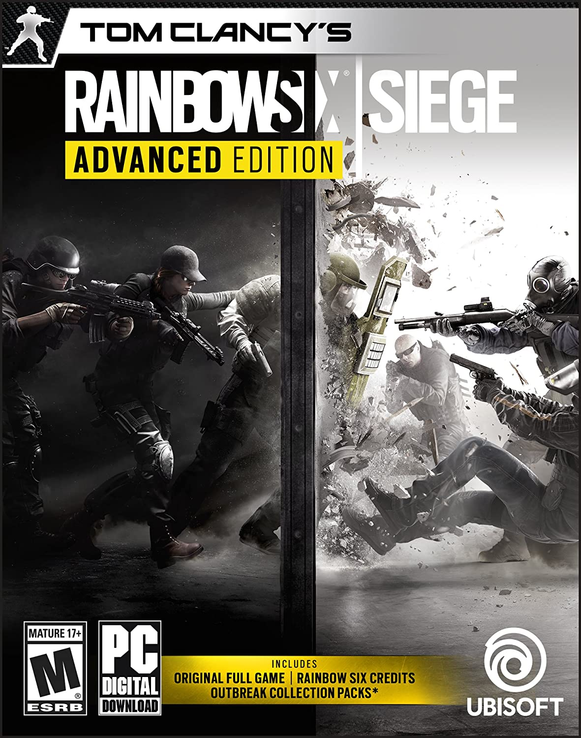 difference between standard and advanced edition rainbow six siege