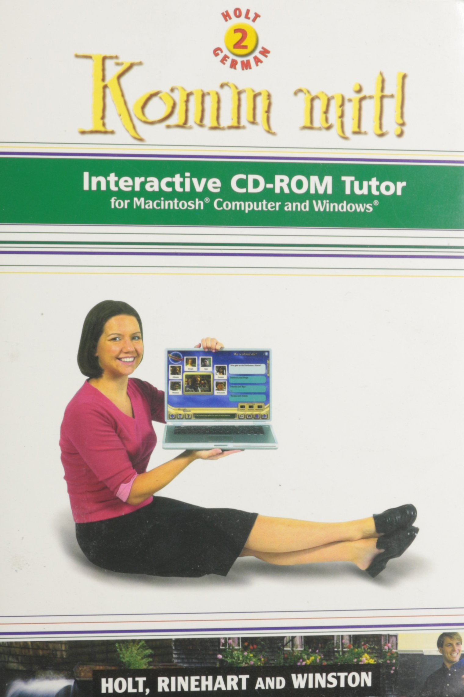 Komm Mit!: Interactive Cd-Rom Tutor for Macintosh Computer and Windows : Level 2 (World Languages Series) (German Edition) pdf