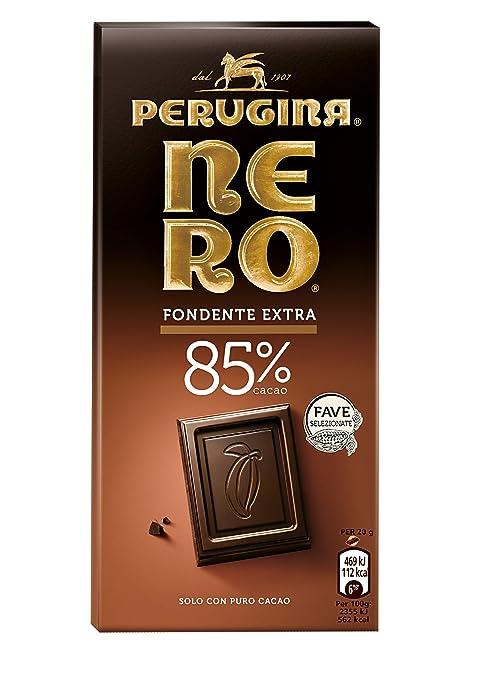 5 opinioni per NERO PERUGINA Fondente Extra 85% tavoletta di cioccolato fondente con 85% di