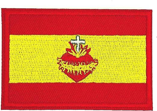 Gemelolandia Parche Termoadhesivo de la Bandera de España Sagrado ...