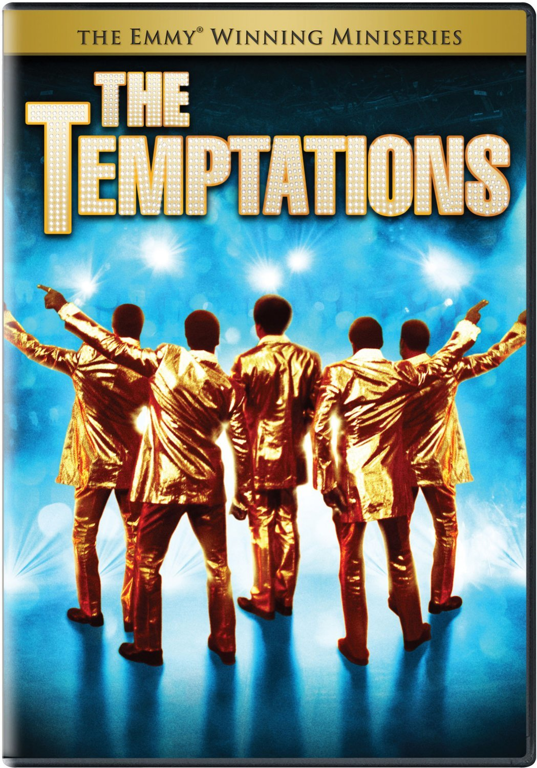 DVD : The Temptations (Full Frame, Dolby)