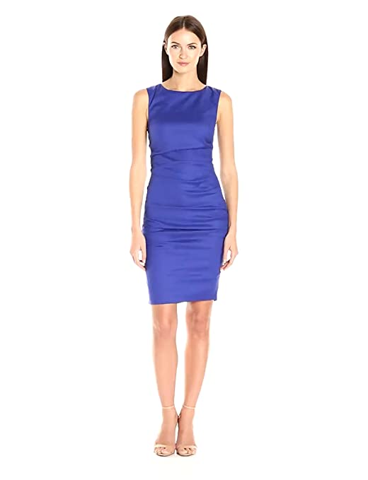 2eaf7bdc Nicole Miller Women's Lauren Stretch Sheath Dress at Amazon Women's Clothing  store: