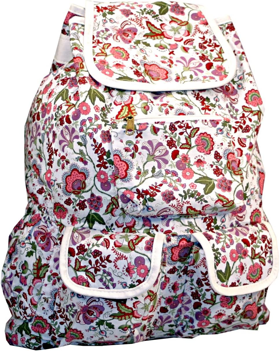 Womens Floral Backpack