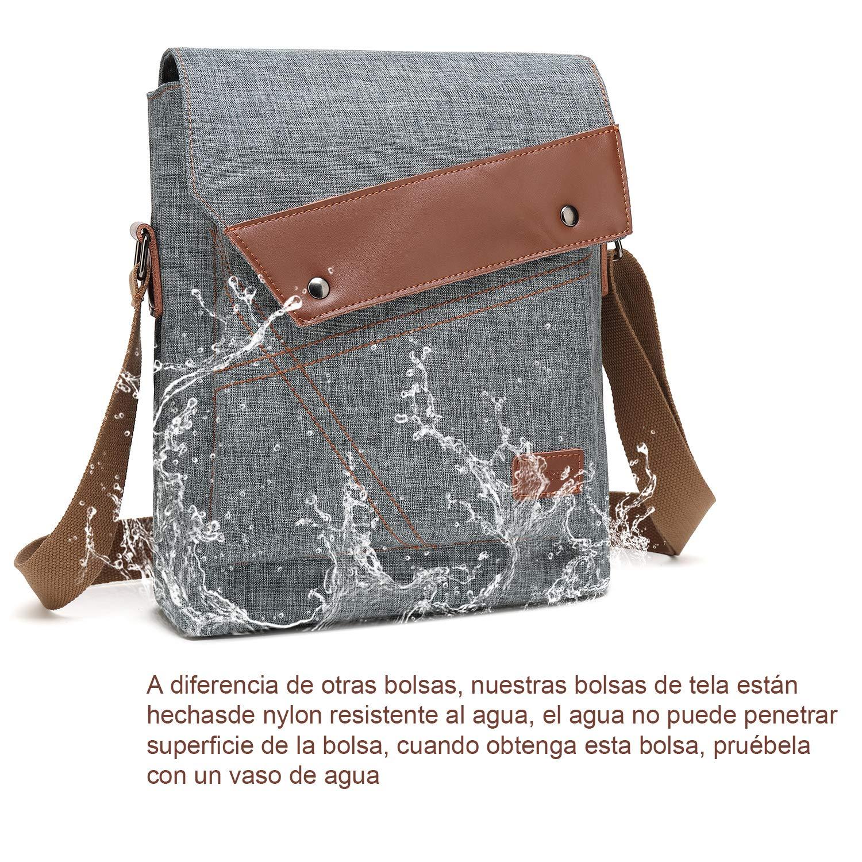 Mensajero Al Nylon Bolsos De Agua Bandolera Bolso Vintage Bolsa Resistente Hombre,sroke RwUnf1qAT