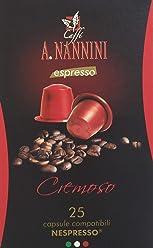 Caffè A. Nannini Cremoso - 150 Capsule